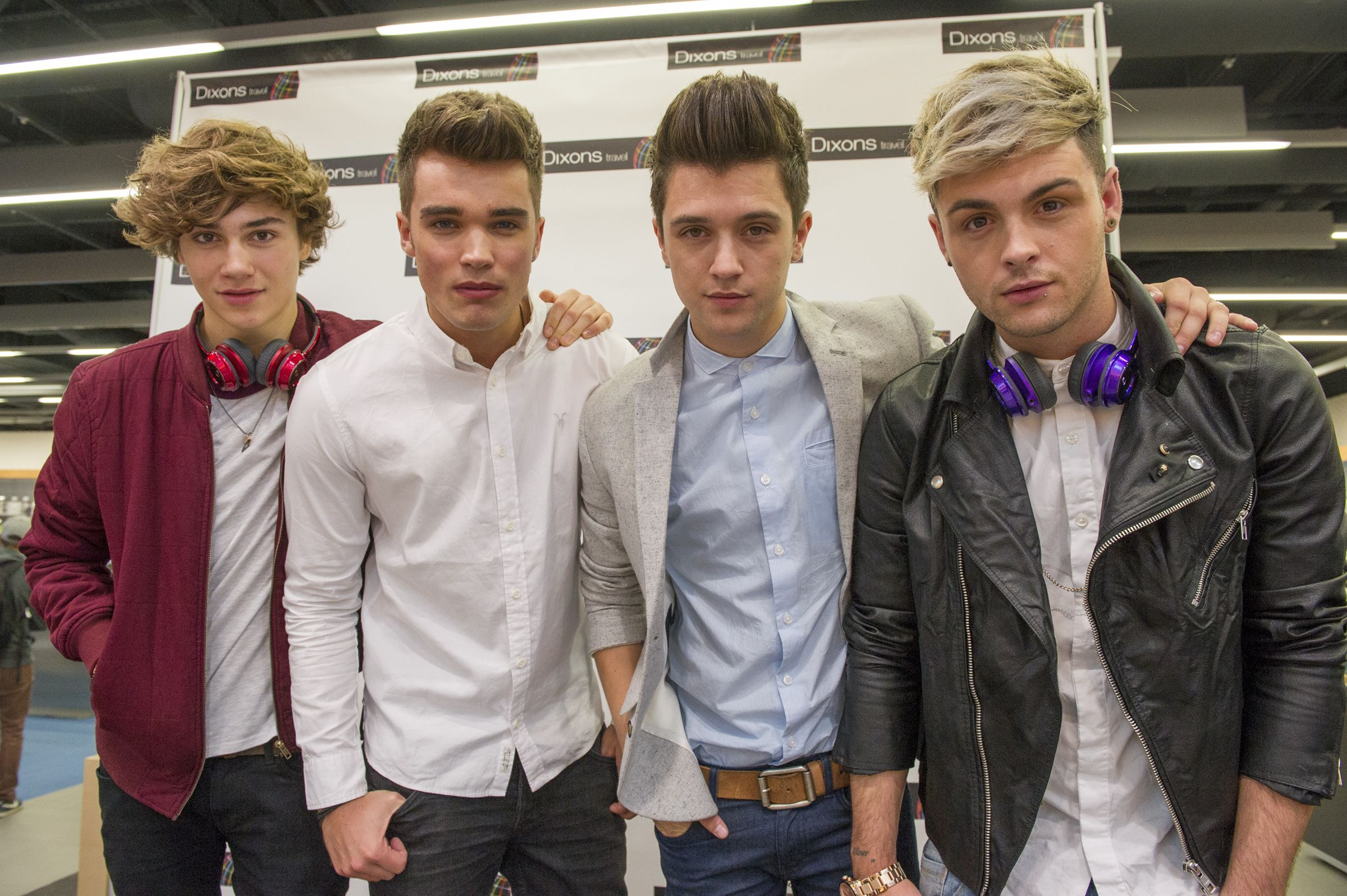 Union j launched the new concept store for dixons travel at union j launched the new concept store for dixons travel at heathrow airport t5 on 29th kristyandbryce Image collections