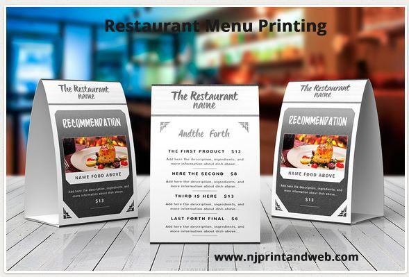 make a menu online for free