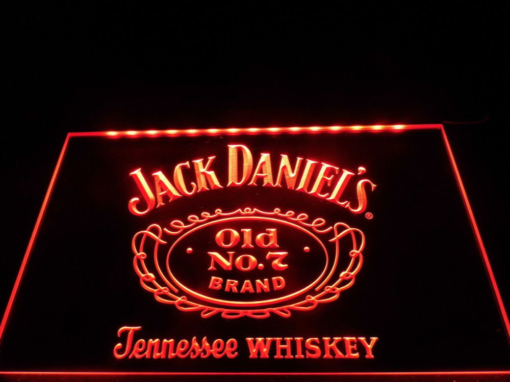 Le048 whiskey old no 7 bar beer led neon light sign man cave 7 bar beer led neon light sign man cave mozeypictures Choice Image