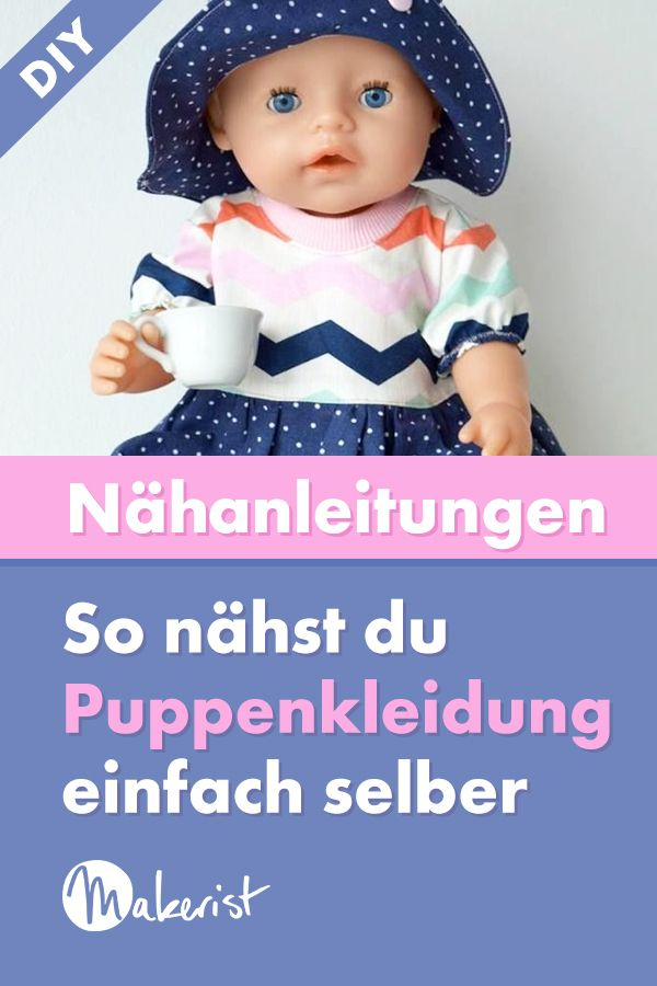 Puppenkleidung selber nähen