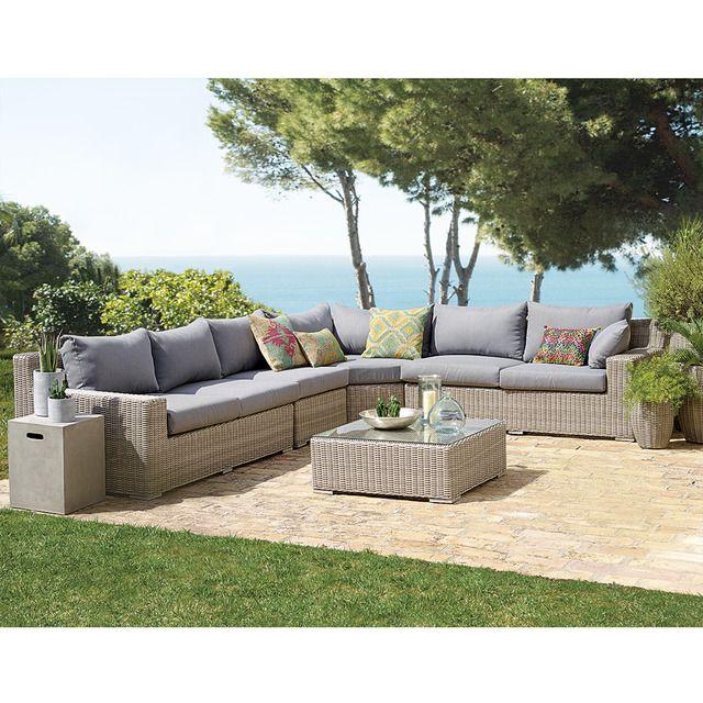 Set Relax 4 Modulos Y 1 Mesa El Corte Ingles Niza Decoracion - Muebles-de-jardin-el-corte-ingles