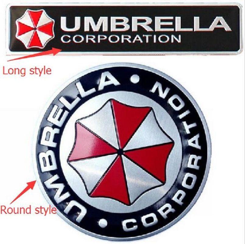 Auto Styling 3d Aluminiumlegierung Umbrella Corporation Auto