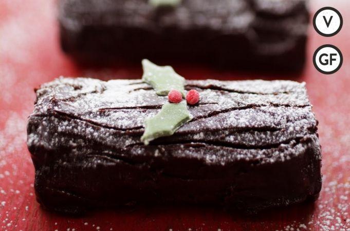 Small Chocolate Cake Recipe Jamie Oliver: Mini Chocolate Logs