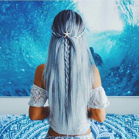 Hairstyle  Blue