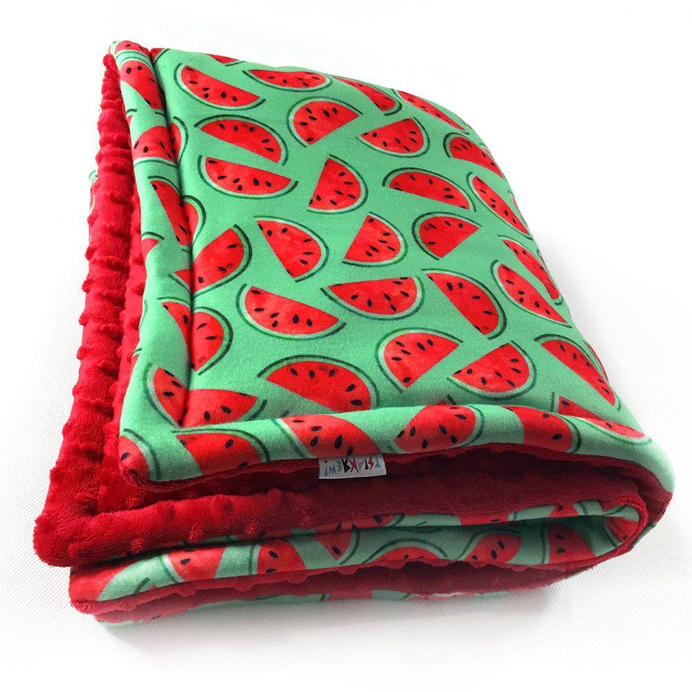 Dog Blanket Pet Bedding Watermelon Double sided blanket