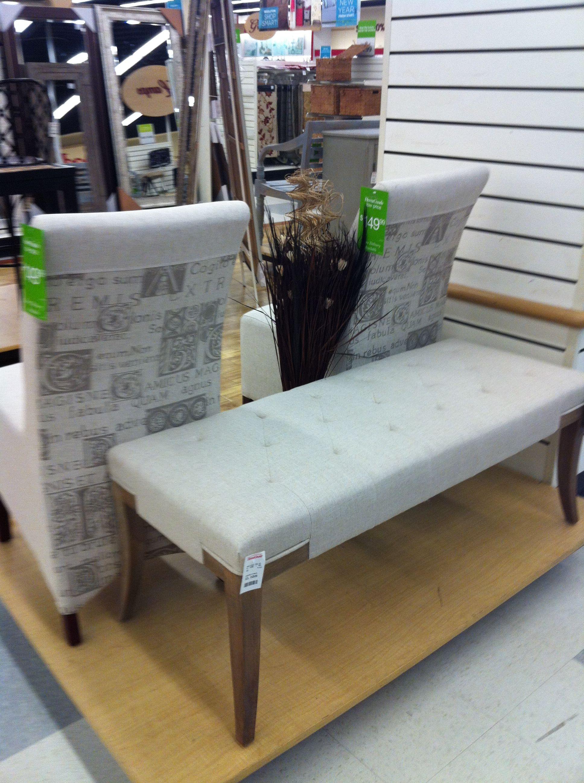 Homegoods Finds Back Of Chair Amp Bench Homegoods Finds