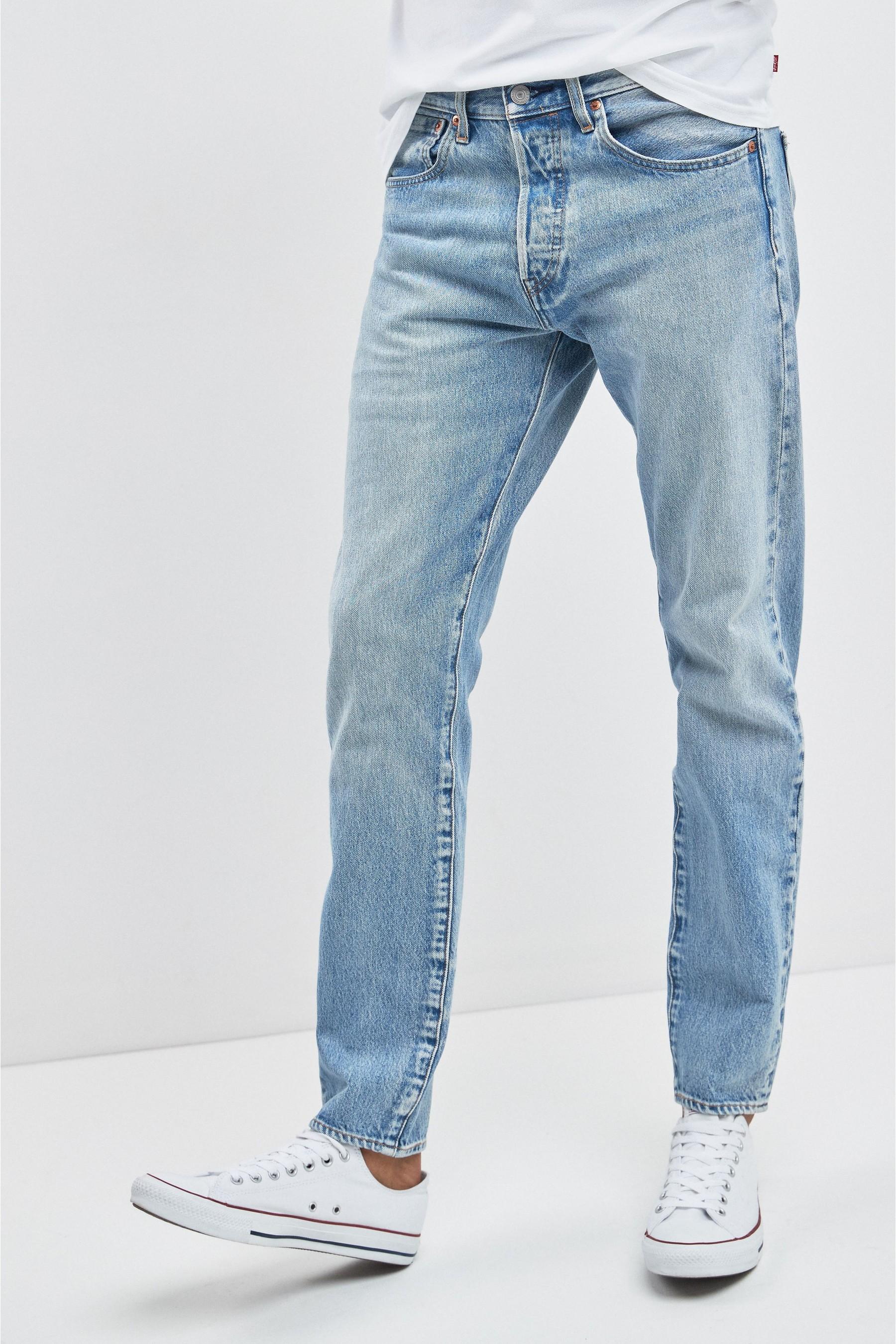Mens Levi S 501 Slim Taper Jean Blue Jeans Outfit Men Denim Jeans Men Tapered Jeans Men