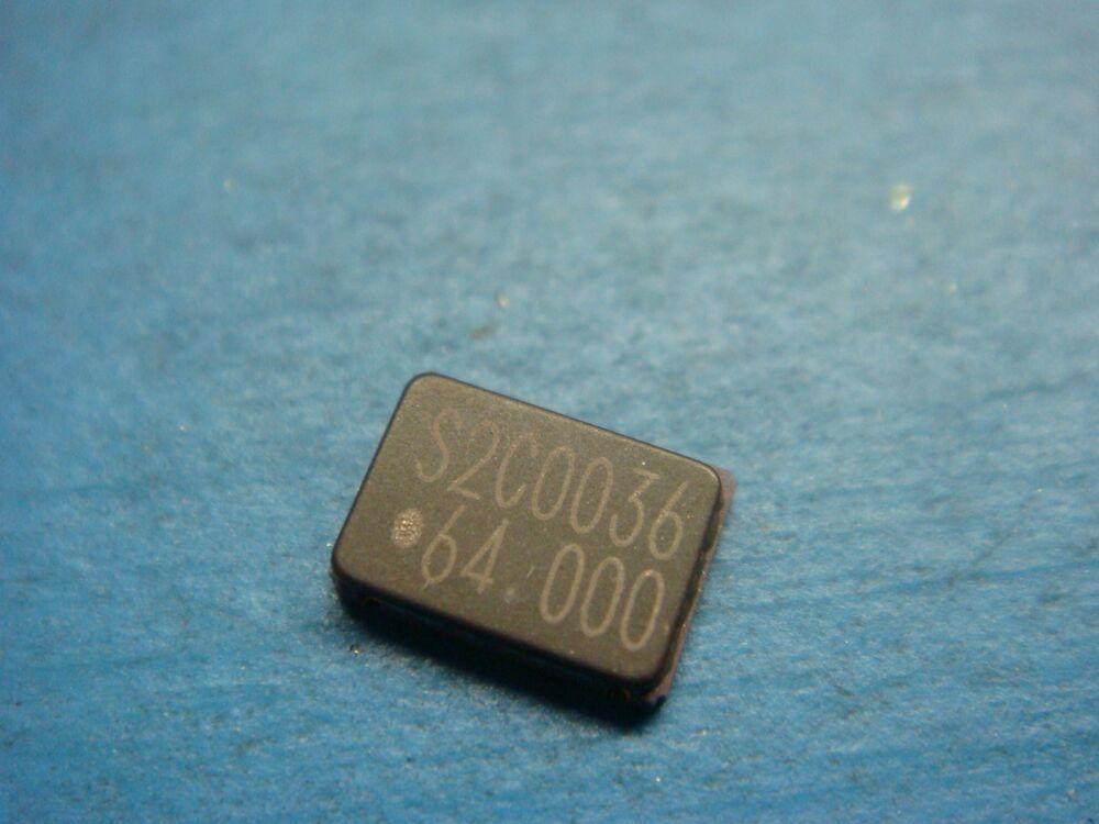 4 Saronix S1700c 64 0000 Mhz 30pf Ceramic Smd Hcmos Ts Crystal Oscillator Saronix Electronics Components Enamel Pins Electronics