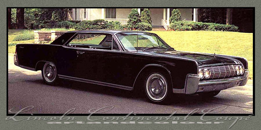1964 Lincoln Continental Coupe  LINCOLN CONTINENTAL  Pinterest