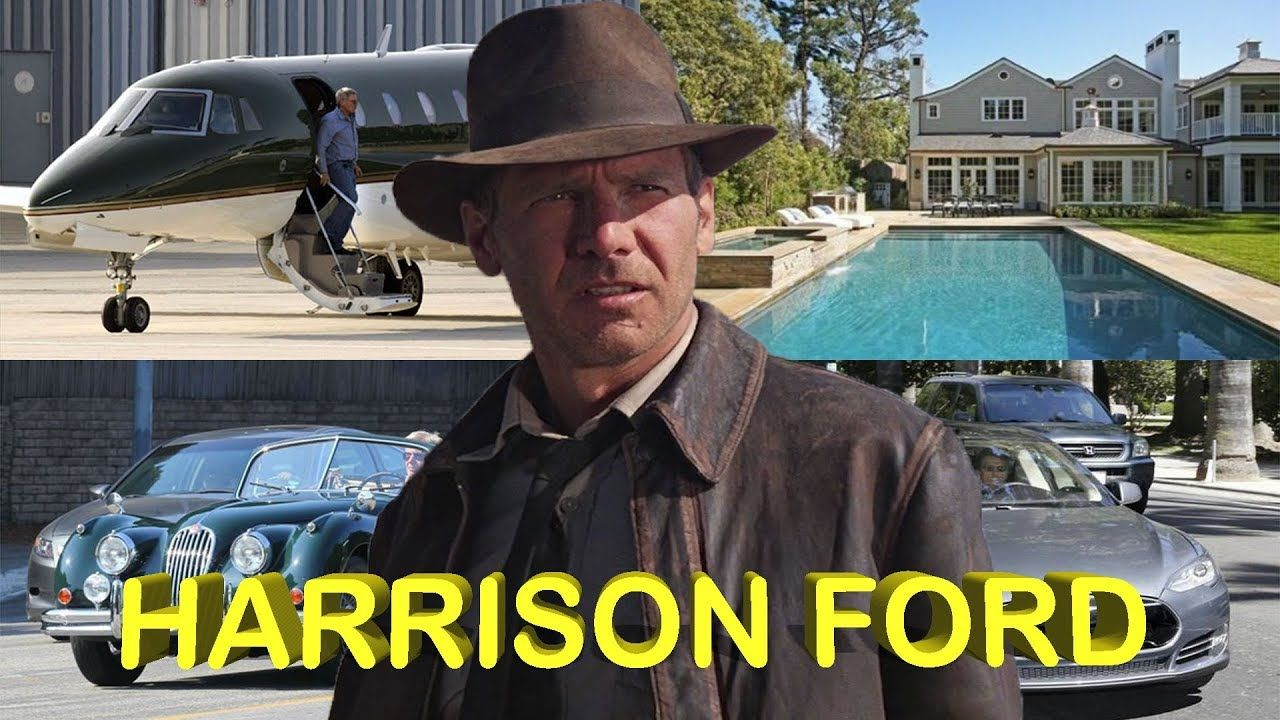 Harrison Ford Biography House Cars Jet Family Net Worth Star Wars Film American Actors Celebrity Houses