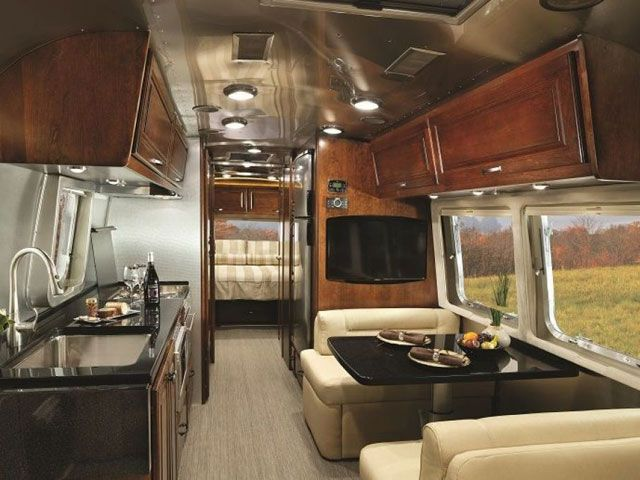 Look Inside The New Airstream Model Airstream Interior