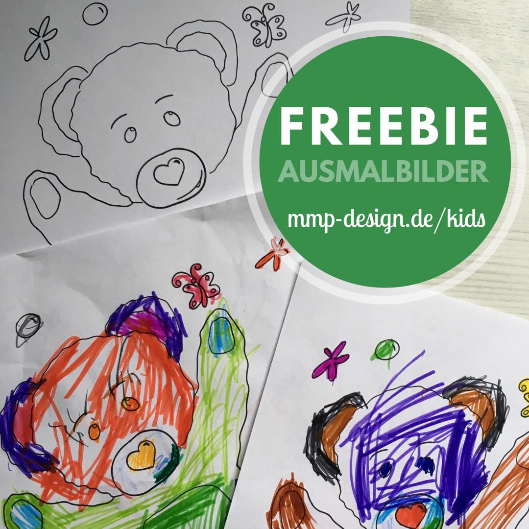 Malvorlagen Für Kinder Ausmalbilder Mit Motiven Wie Bär Einhorn
