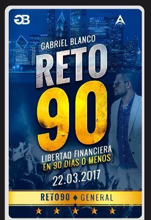 RETO 90 PDF Libro Gabriel Blanco Descargar Gratis