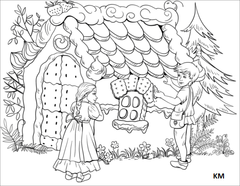 Pin By Alhabsi On Hansel Und Gretel Coloring Pages Coloring Pages For Kids Free Printable Coloring Pages