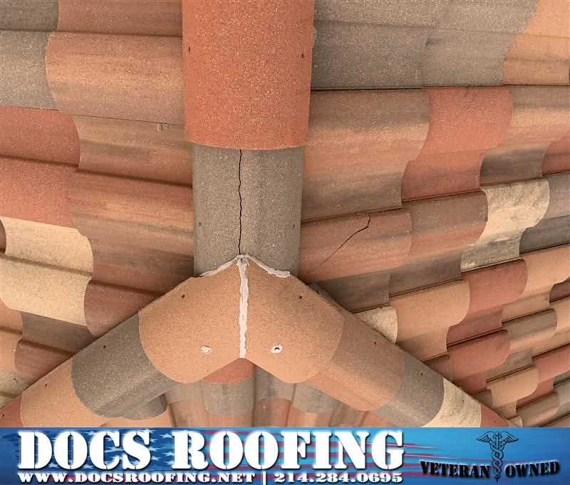 If Your Tile Roof Has Cracks Missing Mortar Or Broken Tiles Give Us A Call To Fix Those Cracks Those The Cracks May Seem Insignificant Over Time They Will De Mortar