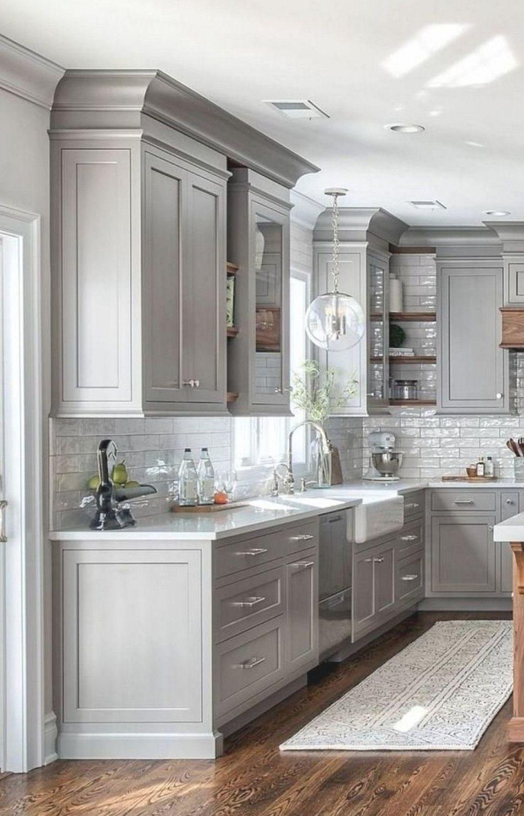 Stunning Modern Kitchen Cabinets Ideas #kitchencabinetideas #kitchendesign #kitchenideas #kitchenremodel