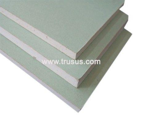Thickness 15mm Waterproof Decorative Gypsum Board Gypsum Board