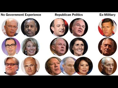 More Cronies Added To Trump's Koch-Head Cabinet... - YouTube ...