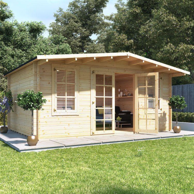 Billyoh Winchester Log Cabin Garden Buildings Direct Summer House Garden Garden Buildings Direct Garden Log Cabins