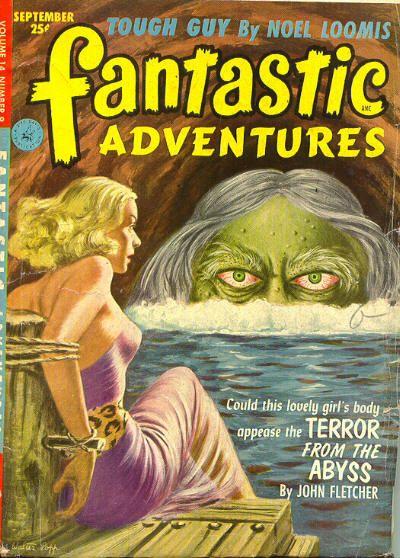 Publication: Fantastic Adventures, September 1952  Editors: Howard Browne Year: 1952-09-00 Publisher: Ziff-Davis Publishing Company  Cover: Walter Popp