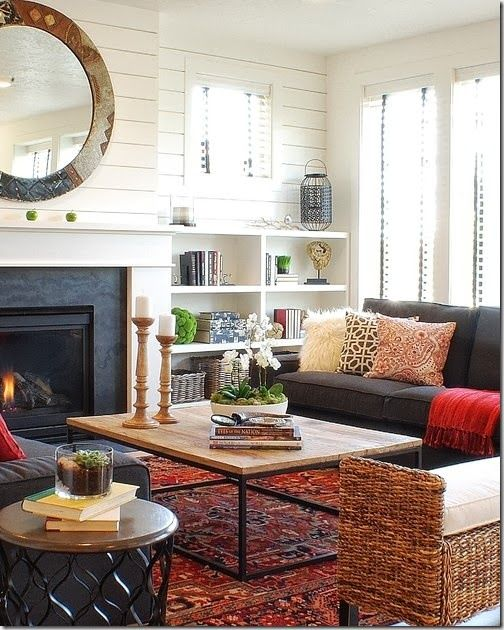 Persian rug living room also pinterest meeting place