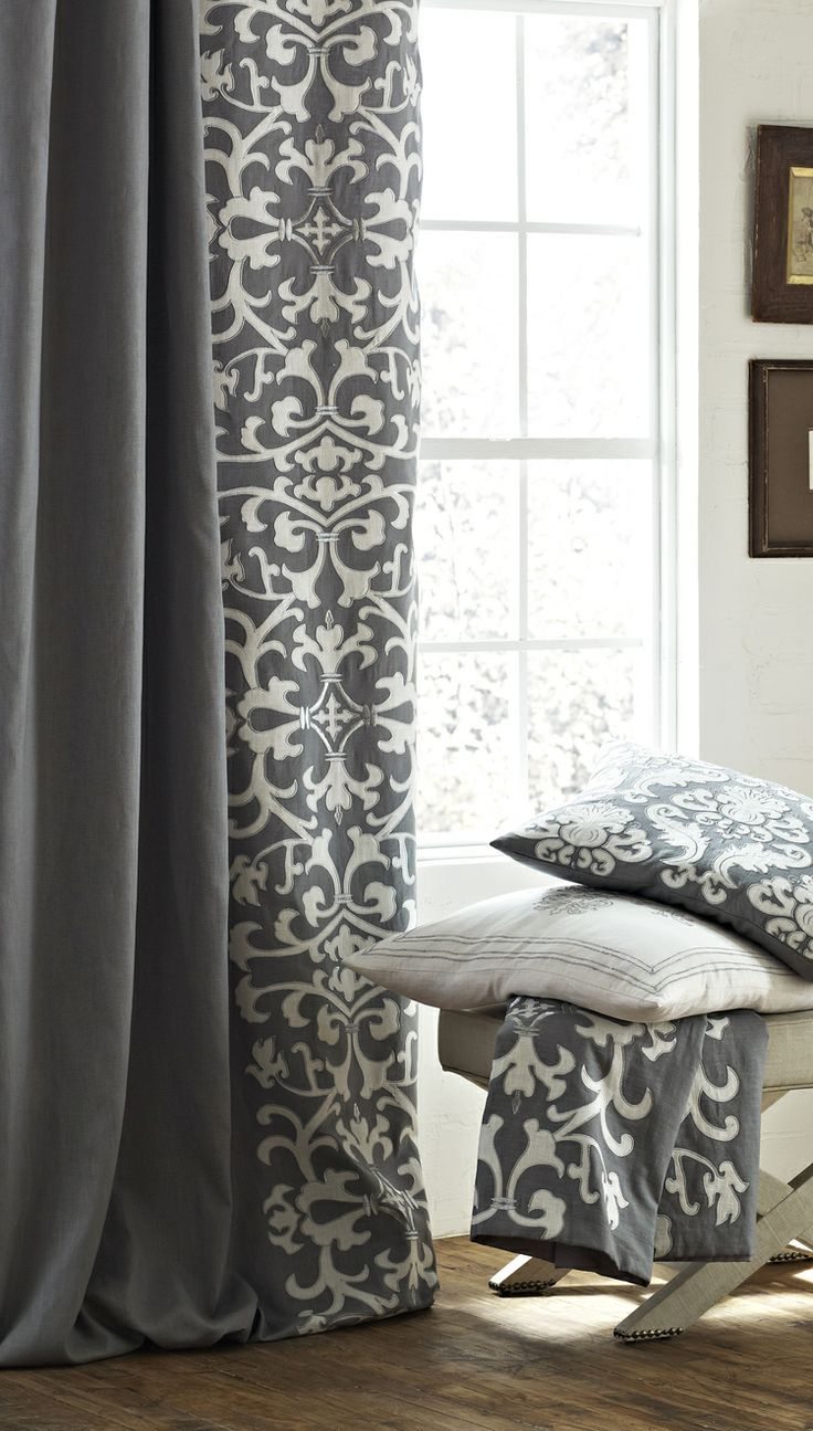 Ideas For Home Decorating Adding Fabric Textures Curtains Living Room Living Room Decor Grey And White Curtains Living room curtains fabric