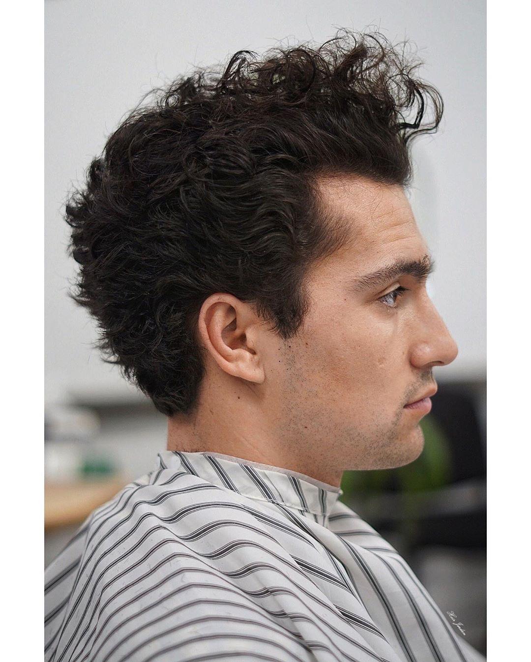 100 New Men S Hairstyles Top Picks Curly Hair Men Curly Hair Styles Undercut Curly Hair