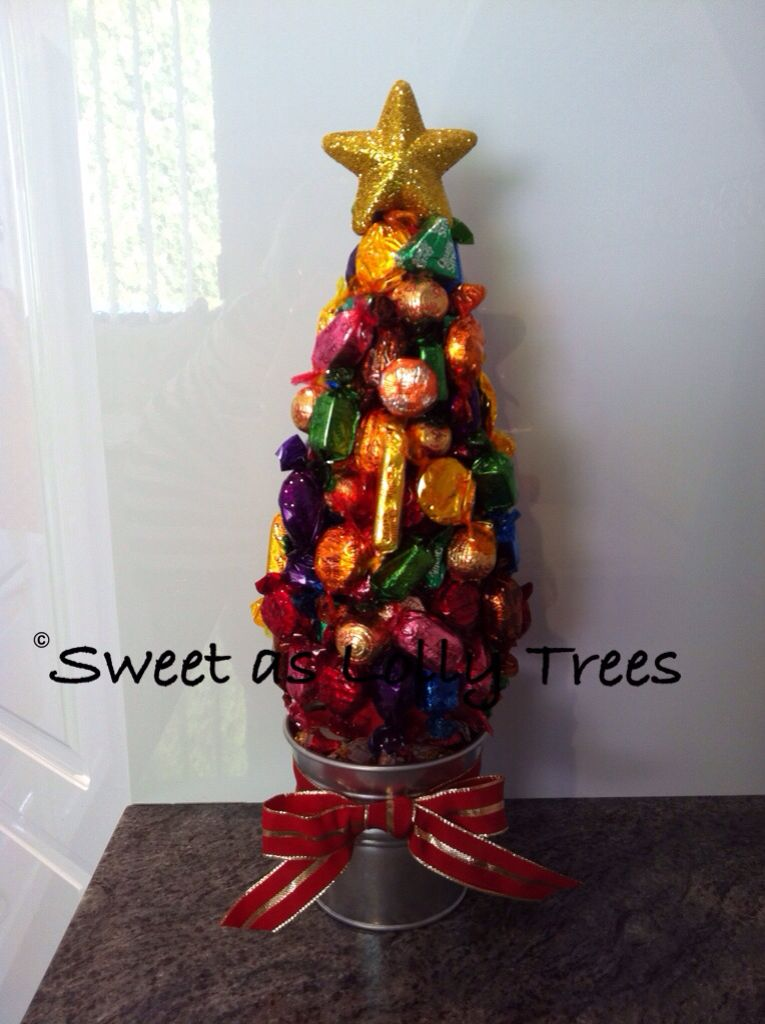 Quality Street Christmas Lolly Tree Lolly Trees 2 Pinterest  - Quality Christmas Tree