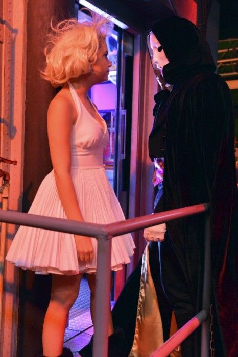 Ashley Benson as Marilyn Monroe. Pretty Little Liars Halloween Costume Ideas