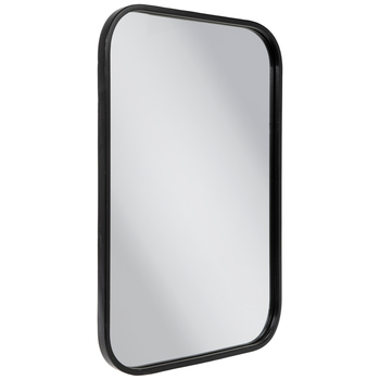 Black Rounded Rectangle Metal Wall Mirror Hobby Lobby 80941474 Mirror Wall Hobby Lobby Mirrors Wall Mirror Online