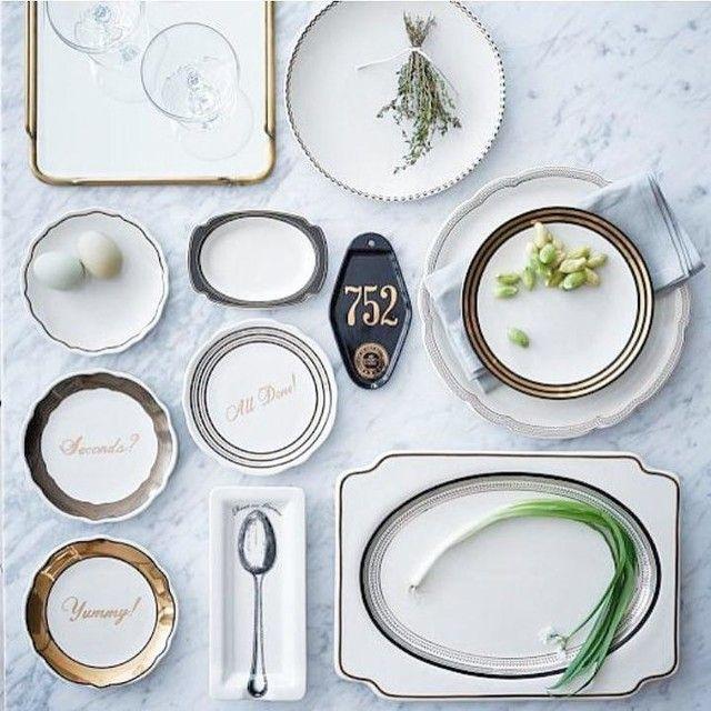 sc 1 st  Pinterest & Fishs Eddy Gilded Dinnerware Set | Pinterest | Dinnerware