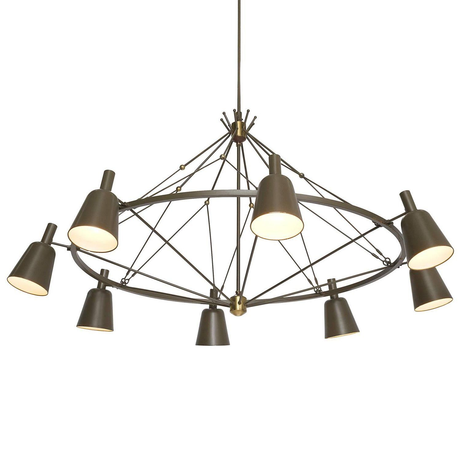 Large Dutch Chandelier, Circa 1950