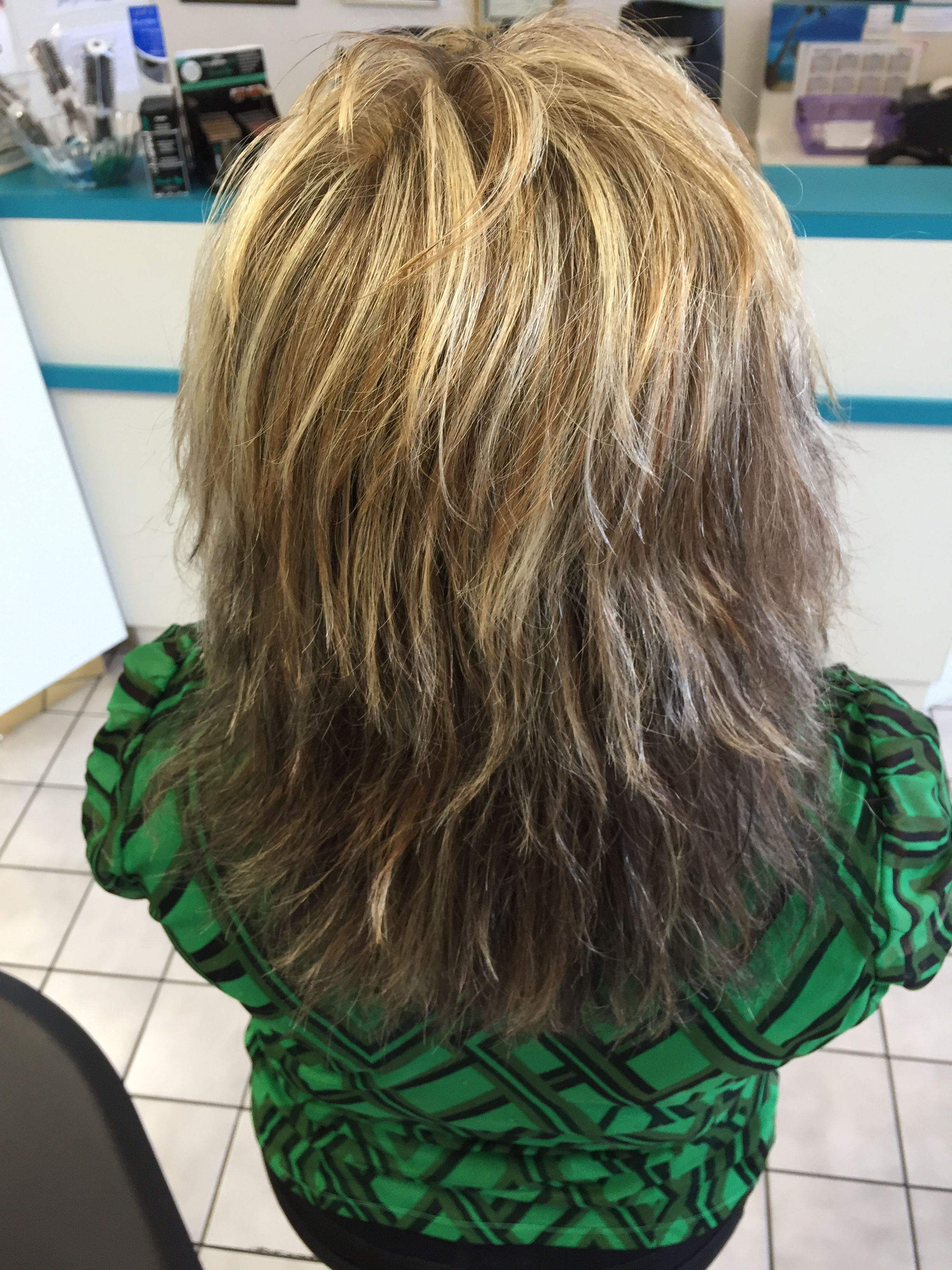High Contrast Color and Highlight #Hair #Hairstyle #Fashion