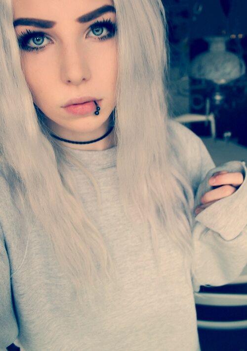 Alexandra Catherine Axelina Silver Hair Hair Silver Hair Tumblr