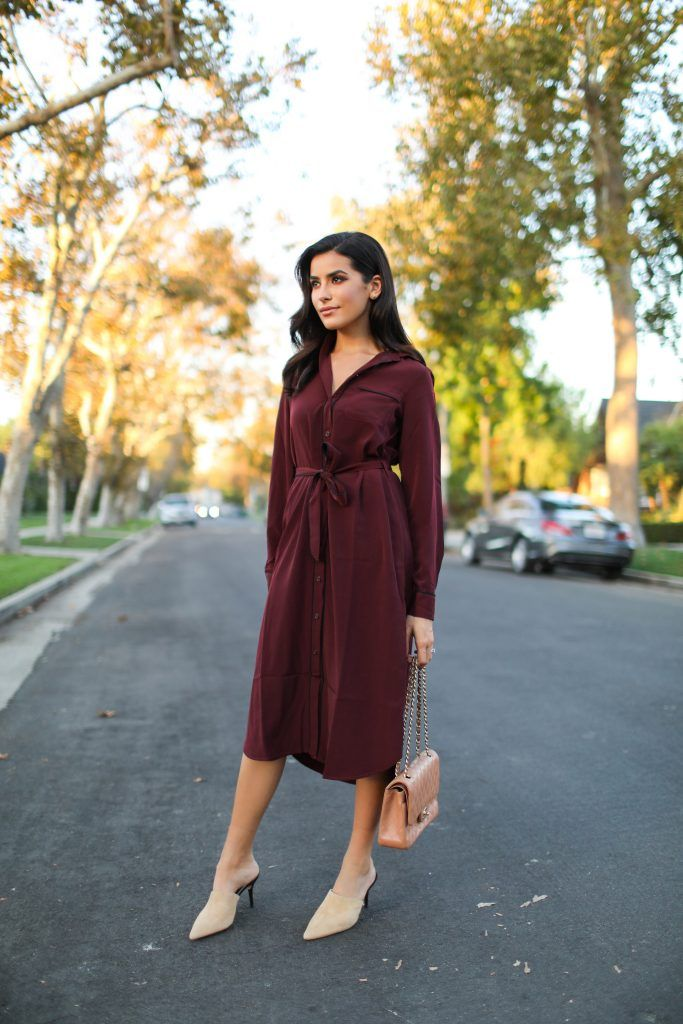 c67b06b5d8d6f fall style, outfit, sazan, hendrix, target, who what wear, collection,  burgundy, holiday dresses, affordable finds, bold beauty, street style,  zara, ...