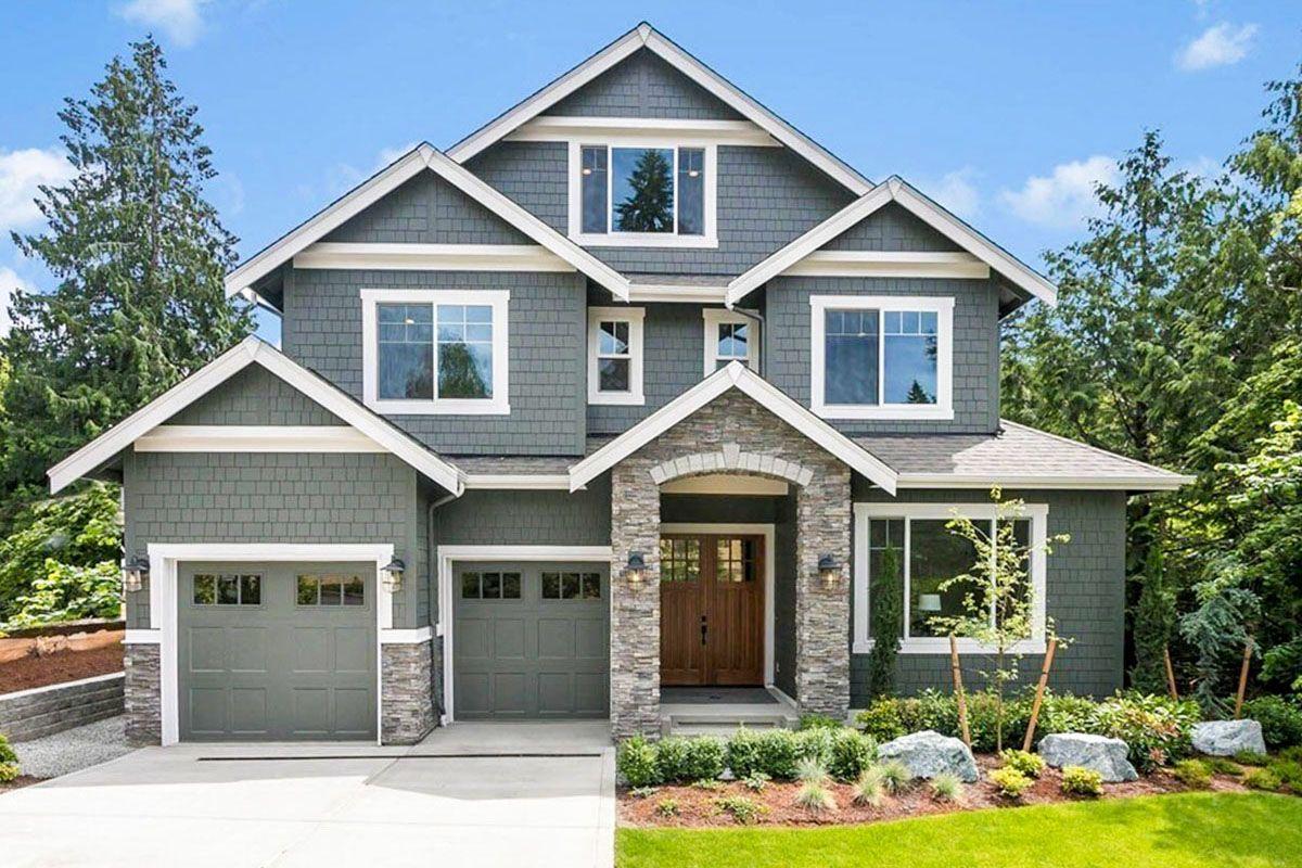 Plan 23794JD Beautiful 3Story Craftsman House Plan with