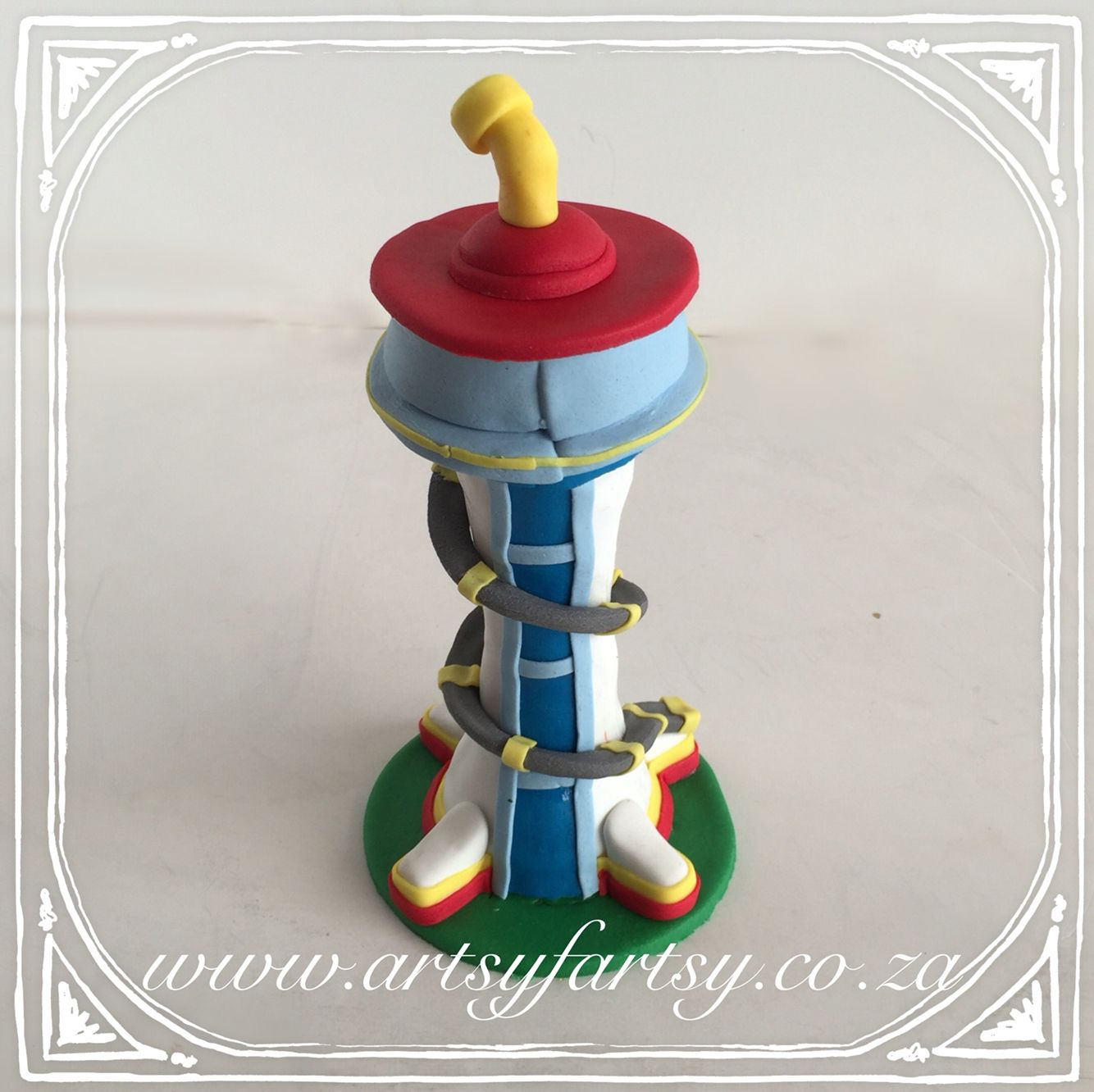 Paw Patrol Lookout Tower Cake Topper # ...