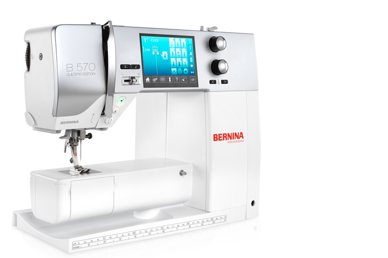 Bernina 570 Qe The Versatile One With The Wide Range Of