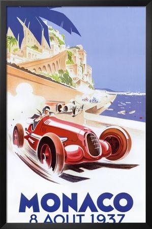 Mónaco, 1937 Obra de arte por Geo Ham en AllPosters.com.ar.