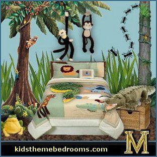 tropical jungle rural themed classroom