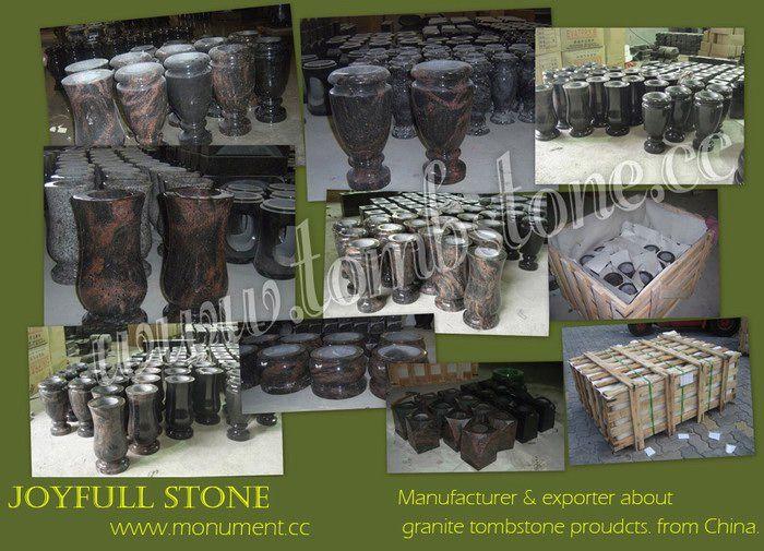 Granite Vases For Headstones Funeral Granite Vases Granite