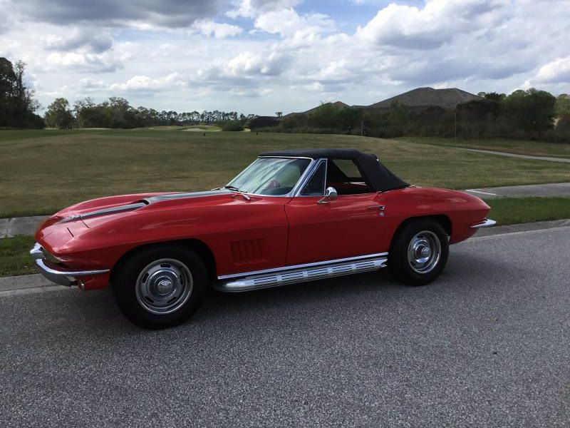 1967 Corvette Convertible For Sale Florida Be The Proud Owner Of A 1967 46 000 Listing 81376 Corvette Chevy Corvette For Sale Corvette For Sale