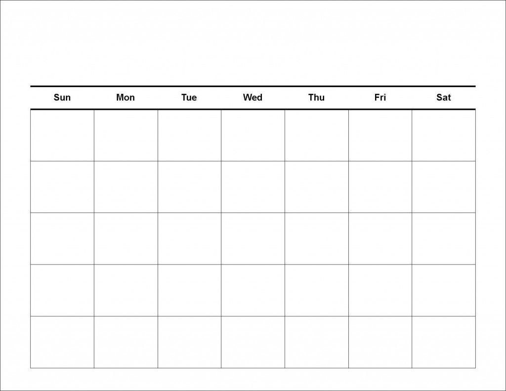 Printable Workout Calendar | Kiddo Shelter | Calendar Template ...