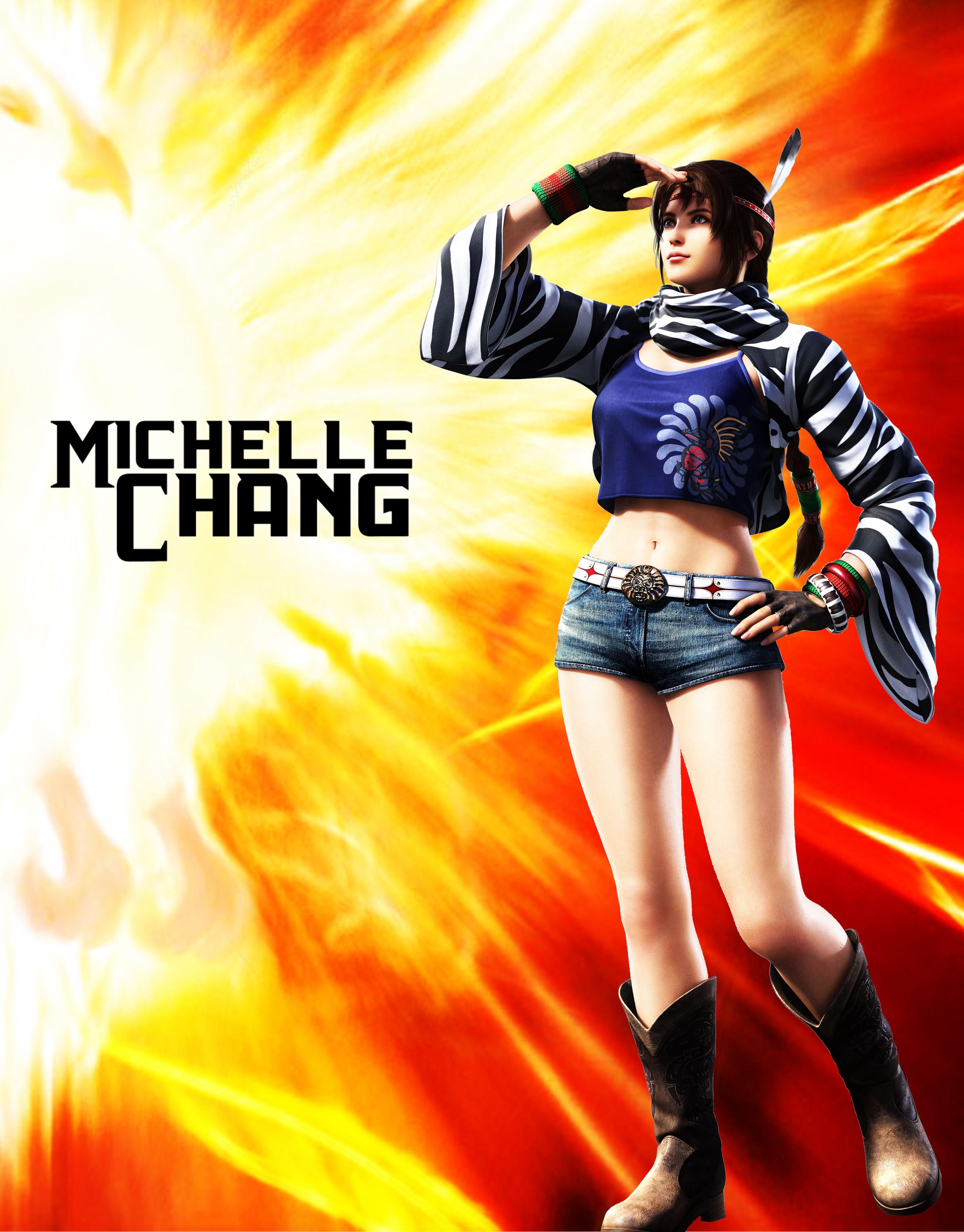 michelle chang - #michelle #tekken | michelle | pinterest