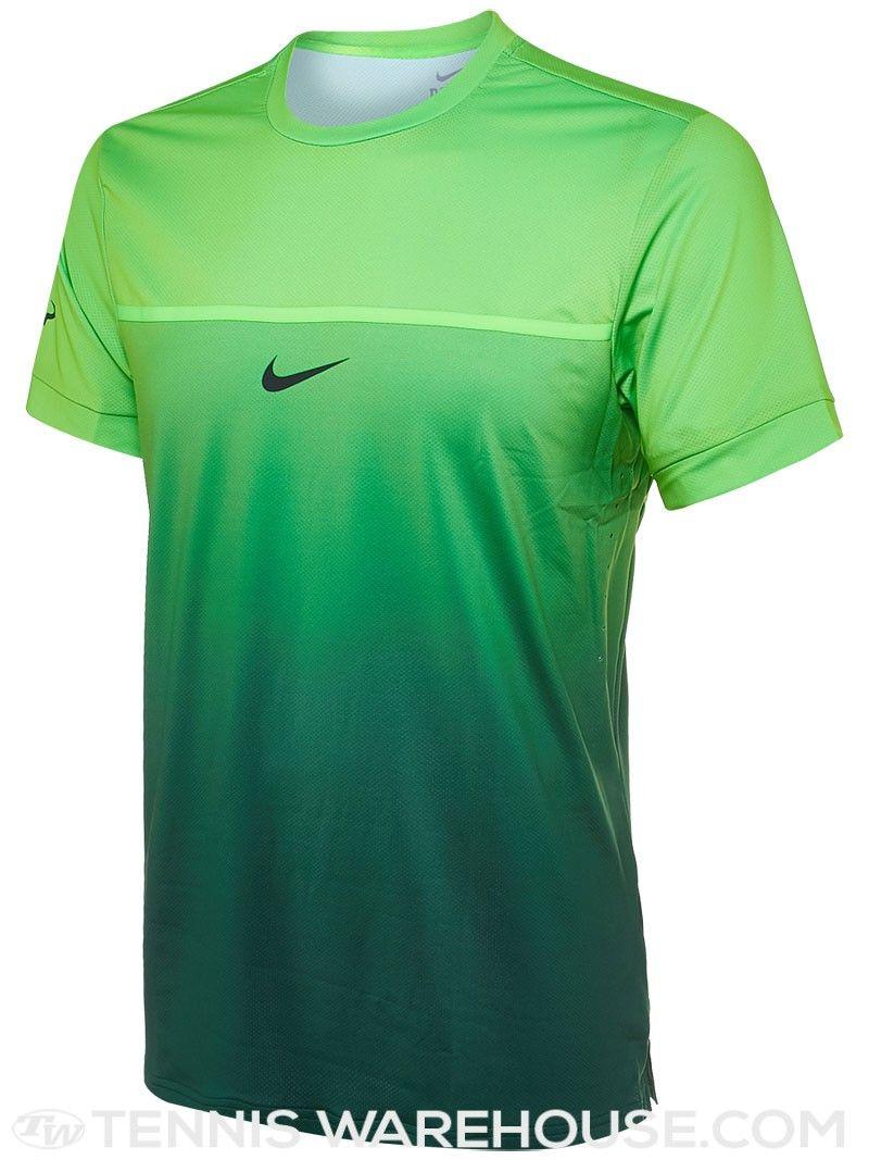 05d98c0acd Nike Men s Fall TG Rafa Challenger Crew (Green)