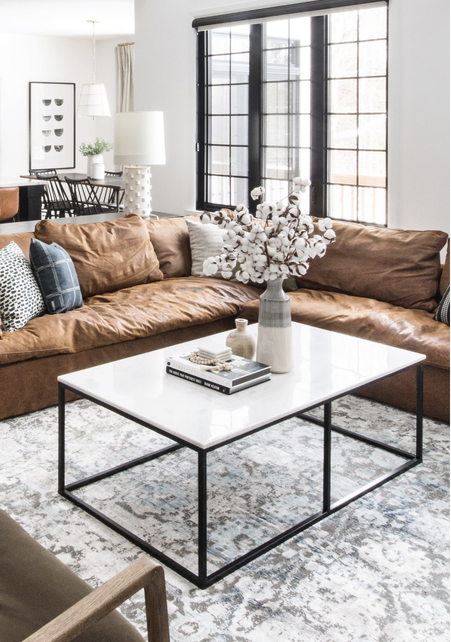 Top Five Tips For Styling A Coffee Table Leclair Decor Living Room Coffee Table Living Room Table Sets Cool Coffee Tables