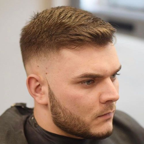 25 Best Haircuts For Guys With Round Faces 2019 Guide Fade