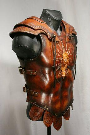davidpowellart Leo armor Based on Roman and Greek styles of armor