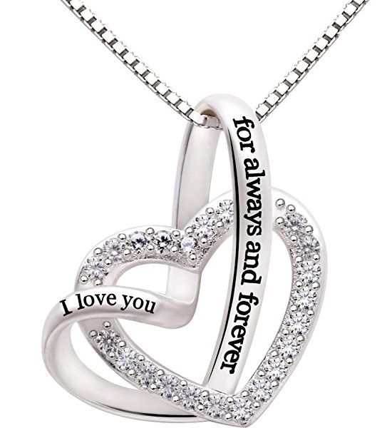 Amazon Com Alov Jewelry Sterling Silver Quot I Love You For