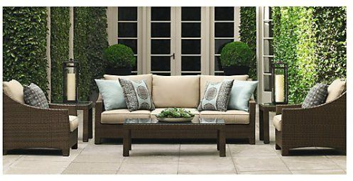 patio furniture rattan patios and blue patio